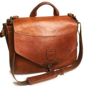 Brown Bag Company XL Messenger Bag Saddle Leather